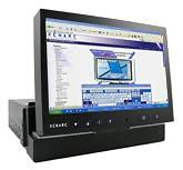 "XENARC 700IDT 7"" IN-DASH Touchscreen LCD VGA Monitor"