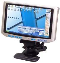 "Xenarc 700TSV 7"" TFT LCD Touchscreen Monitor w/ VGA & Optional AV inputs"